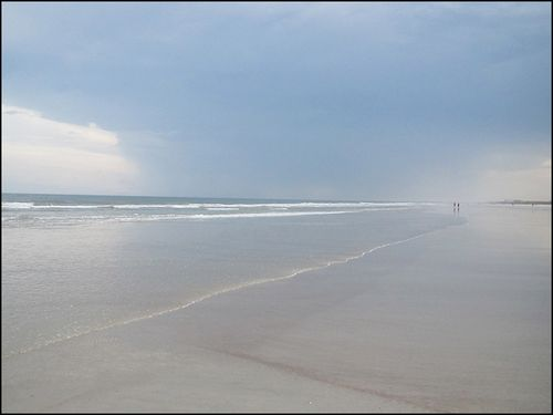 Beach rain blog