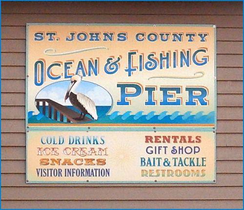 Fish sign pier blog