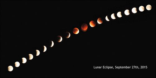 Lunar eclipse 9.27