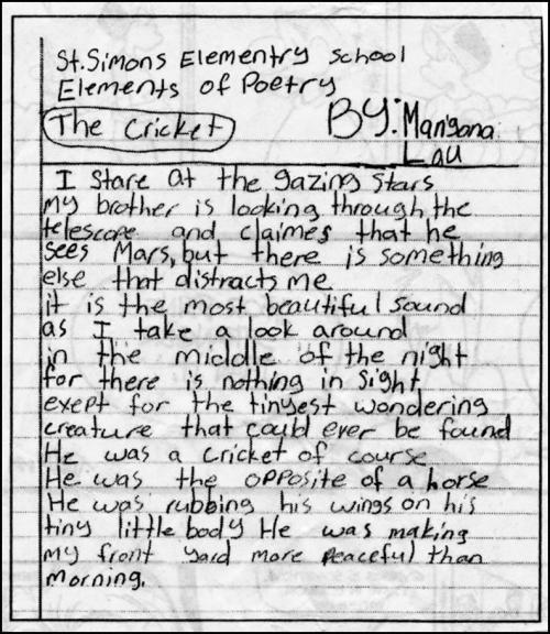 Poem kid's