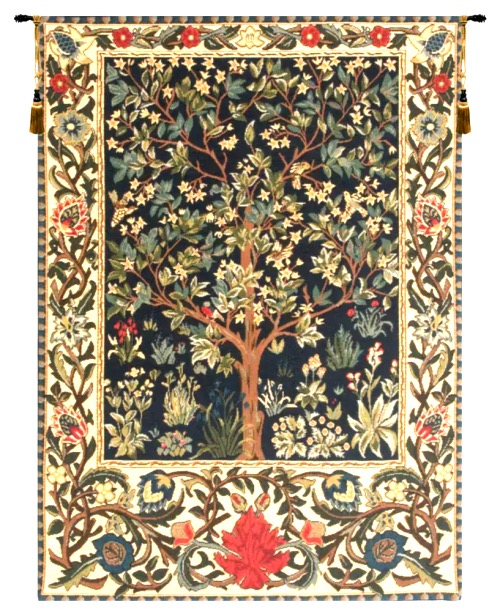 Tree of Life tapestry 1